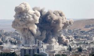 """Według syryjskiej opozycji, Rosjanie bombardują ich pozycje, a nie Państwa Islamskiego. """"Pogłoski"""" – mówią Rosjanie Fot. archiwum"""