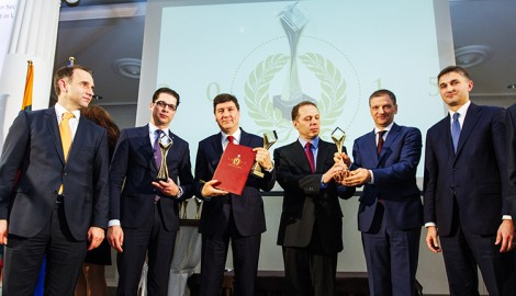 Przedstawiciele firm osiągających sukcesy w polsko-litewskiej współpracy gospodarczej Fot. Marian Paluszkiewicz