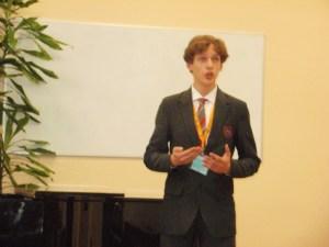 Julian Germanowicz został brązowym medalistą IV Olimpiady Muzyki Uczniów Litwy