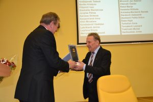 Jan Gabriel Mincewicz otrzymał Nagrodę Sejmu za rozsławianie Litwy na świecie