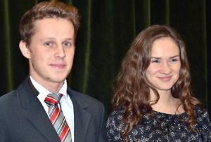 Edgar Kriwelis i Julia Guniewicz będą reprezentowali Litwę na Finale Konkursu w Białymstoku Fot. Teresa Worobiej