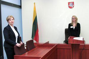 Budynek Sądu Okręgowego Rejonu Wileńskiego mieści się obecnie przy ul. Ukmergės 322 Fot. Marian Paluszkiewicz