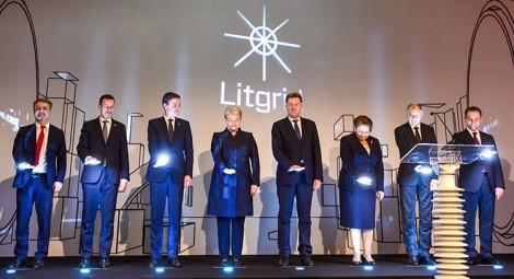 Oficjalna inauguracja połączenia elektroenergetycznego Litwy z Polską i Szwecją odbyła się po południu w Pałacu Władców Fot. President.lt