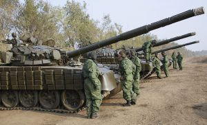 W wojnie na Ukrainie Rosja na całego używa wojennej propagandy Fot. EPA-ELTA
