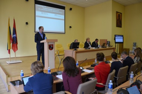 """Podczas posiedzenia Rady przyjęta decyzja o zezwoleniu na realizację projektu """"Świadczenie integralnej pomocy w rejonie wileńskim"""""""
