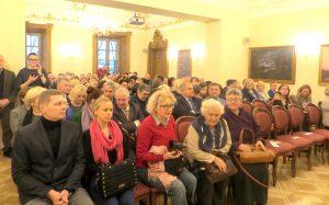 Koncert odbył się przy pełnej sali  Fot. Anna Pieszko