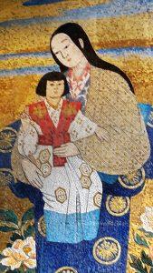 Matka Boża z Dzieciątkiem w wersji japońskiej