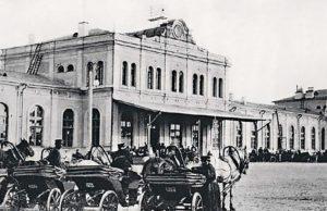 Tak wyglądał wileński dworzec kolejowy przed wojną Fot. archiwum