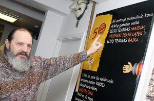 Reżyser Rimas Driežis jest wielkim znawcą historii teatru litewskiego Fot. Marian Paluszkiewicz