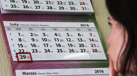 Rok przestępny z datą 29 lutego obrósł w ciągu wieków w zabobony i przesądy Fot. Marian Paluszkiewicz