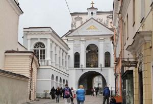 3 mln euro przyznano na remont Kaplicy Ostrobramskiej i kościoła św. Teresy w Wilnie Fot. Marian Paluszkiewicz