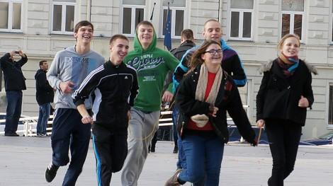 Z najnowszego sondażu Eurobarometru wynika, że 75 proc. mieszkańców Litwy jest zadowolonych z życia... Fot. Marian Paluszkiewicz