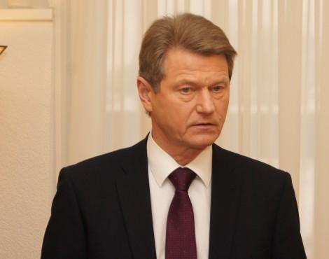 Rolandas Paksas odpiera wszelkie zarzuty Fot. Marian Paluszkiewicz