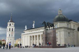 Dzięki staraniom i wsparciu finansowemu Massalskiego Wawrzyniec Gucewicz przebudował katedrę w stylu klasycyzmu Fot. Marian Paluszkiewicz