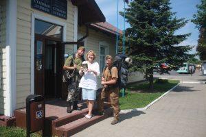Na pożegnanie od Tatiany Konopackiej otrzymaliśmy książkę jej autorstwa Fot. Waldemar Szełkowski