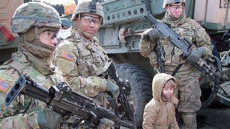 Dowództwo sił USA w Europie poinformowało, że w lutym 2017 roku Stany Zjednoczone rozpoczną zwiększanie swych sił lądowych w Europie Fot. Marian Paluszkiewicz