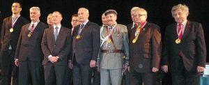 Goście z Polski zostali odznaczeni medalami okolicznościowymi STIP Fot. Justyna Giedrojć