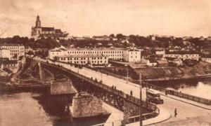 Grodno, most im. Marszałka Piłsudskiego — stąd była pierwsza sowiecka próba zdobycia tego miasta Fot. Waldemar Szełkowski