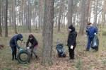 """Społeczna akcja sprzątania """"Darom 2016"""" w rejonie wileńskim"""