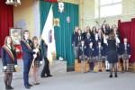 Król Batory patronuje polskiemu gimnazjum w Ławaryszkach