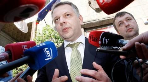 Masiulis zrezygnował z przewodnictwa w partii oraz zrzekł się mandatu poselskiego Fot. ELTA