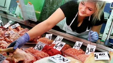 Na targowisku Kalwaryjskim można nabyć jakościowe mięso od litewskich producentów Fot. Marian Paluszkiewicz