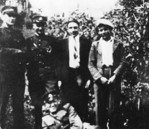 Władysław Butkun vel Vladas Butkunas (leży) Fot. Archiwum IPN