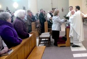 Odnowienie ślubu w wileńskim kościele pod wezwaniem Jana Bosko Fot. z archiwum rodzinnego