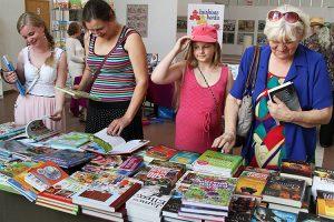 Na targach polskiej książki w Domu Kultury Polskiej każdy znajdzie coś dla siebie Fot. Marian Paluszkiewicz