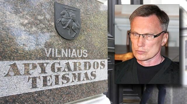 Wileński Sąd Okręgowy wczoraj skazał Raimundasa Ivanauskasa na 8 lat więzienia Fotomontaż Marian Paluszkiewicz