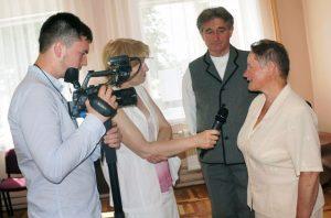 Do Kiejdan zjechało się wileu zaszczytnych gości Fot. archiwum