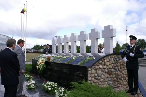 Tragedia w Miednikach jest jedną z najbardziej krwawych, obok wydarzeń 13 stycznia, zbrodnią przeciwko niepodległości Litwy Fot. Marian Paluszkiewicz