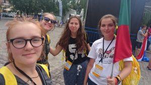 Młodzież z Litwy: radujemy się tym czasem! Fot.facebook.com