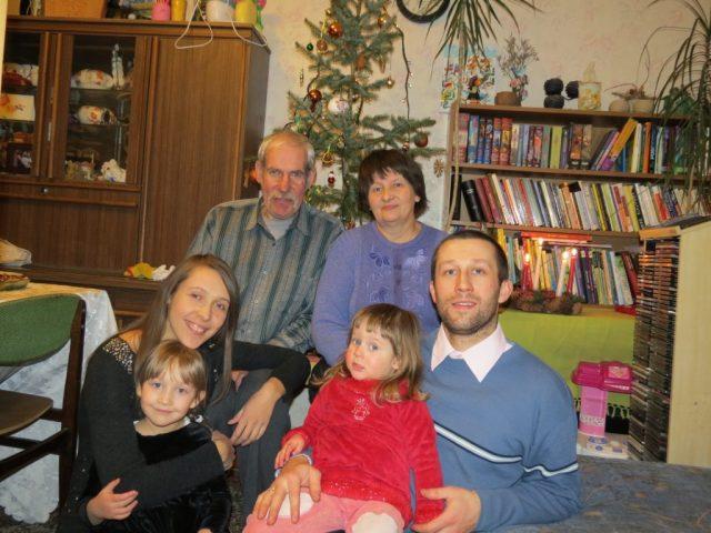Cała rodzina w komplecie Fot. Z albumu rodzinnego