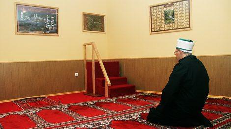 . Wspólnota muzułmańska od lat zabiega u władz miejskich o przydzielenie działki pod budowę meczetu w Wilnie Fot. Marian Paluszkiewicz