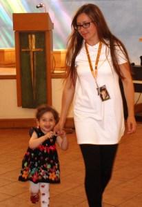 Dwuletnia Aleksandra wraz ze swoją mamą Olgą Fot. Tadeusz Romanowski