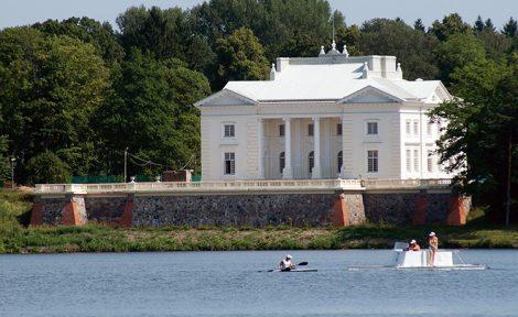Pałac Tyszkiewiczów w Zatroczu Fot. archiwum Liliany Narkowicz