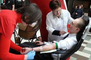 W ramach akcji planuje się pozyskać około tysiąca nowych honorowych krwiodawców Fot. Marian Paluszkiewicz