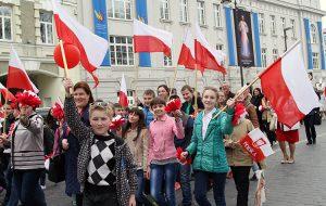 """""""Nowa symbolika została zaaprobowana zarówno przez starszych, jak i młodszych członków partii"""" - zaznaczyła Rita Tamašunienė Fot. Marian Paluszkiewicz"""
