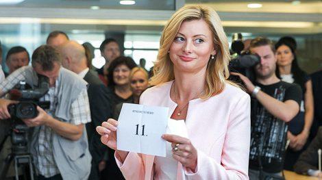 W jesiennych wyborach sejmowych Akcja Wyborcza Polaków na Litwie-Związek Chrześcijańskich Rodzin wystartuje pod numerem 11 Fot. ELTA