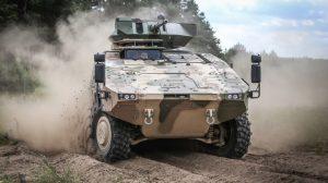 Pozyskanie nowych maszyn bojowych piechoty ma rozpocząć się w końcu 2017 roku Fot. kam.lt