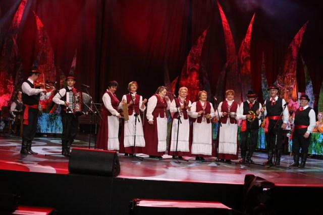 Zespoły z Wileńszczyzny wspaniale zaprezentowały swoje umiejętności Fot.Jerzy Karpowicz