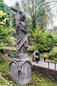 Pomnik uratowany przez panią Jadwigę przed zniszczeniem