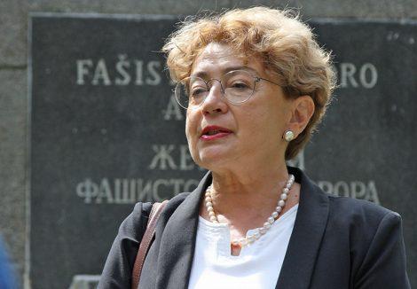 Faina Kukliansky zaznaczyła, że dla wielu Żydów przywrócenie litewskiego obywatelstwa jest sprawą honoru        Fot. Marian Paluszkiewicz