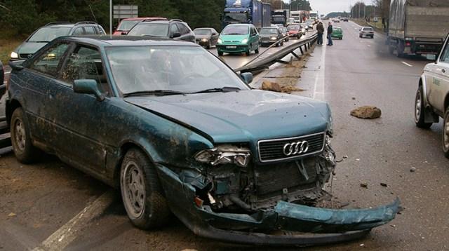 W tym roku na Litwie zarejestrowano już 2 082 wypadki drogowe, w których zginęło 120 osób, a 2 846 zostało rannych Fot. Marian Paluszkiewicz