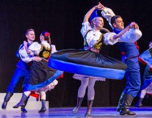 """""""Śląsk"""" zaprezentował w Wilnie najbardziej rozpoznawalne tańce i choreografie Fot. Marian Paluszkiewicz"""