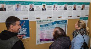 O głosy mieszkańców Rzeszy zabiegało dziewięciu kandydatów na posła w okręgu wyborczym nr 55 Niemenczyn Fot. Marian Paluszkiewicz