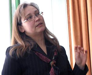 Vitalija Stravinskienė uważa, że prawie milion mieszkańców, których Litwa straciła w ciągu ostatnich 25 lat, byłoby zyskać o wiele trudniej niż w latach powojennych Fot. Marian Paluszkiewicz