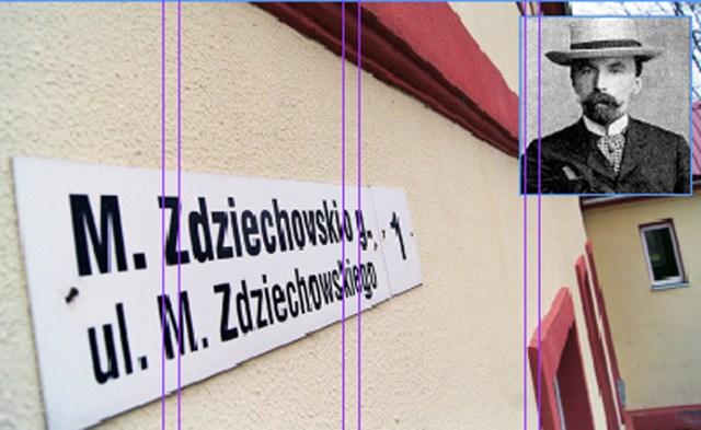 Imię Mariana Zdziechowskiego nosi Szkoła Podstawowa w Suderwie Fot. Marian Paluszkiewicz