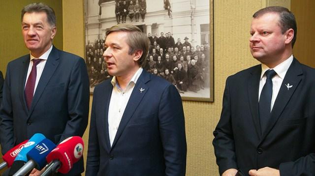 Socjaldemokraci wyrazili wielką chęć współpracy ze Związkiem Chłopów i Zielonych Fot. ELTA